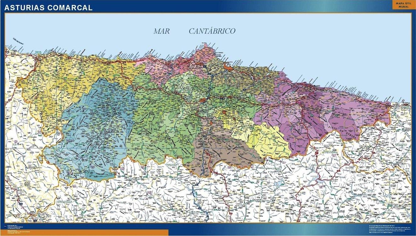 asturies carte espagne