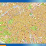 Carte Paris plastifiée